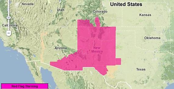 Red Flag Warnings, 4-16-2013