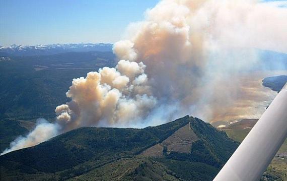 Dog Mountain Fire