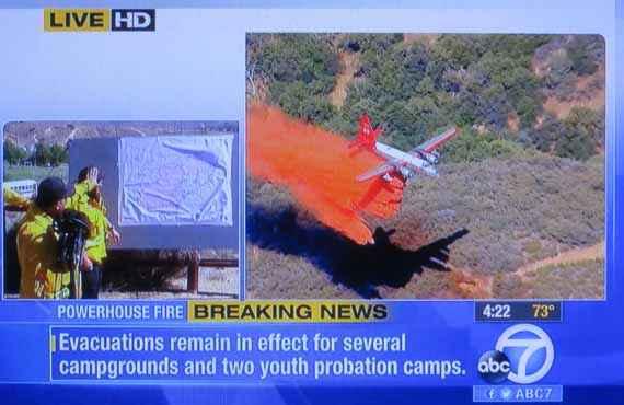Powerhouse fire briefing