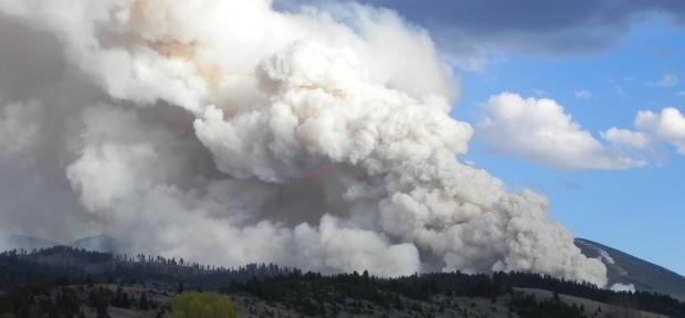 Montana: fire near Philipsburg burns homes