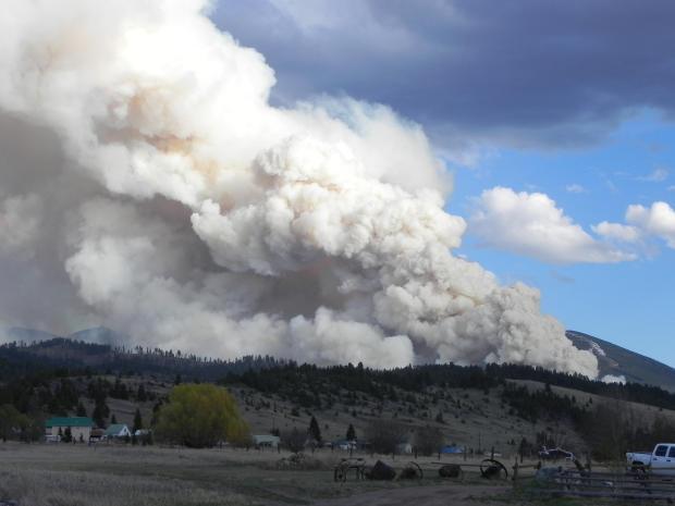 Ramsey Gulch fire