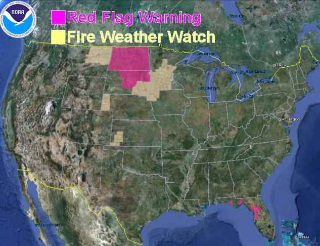 Red Flag Warnings, 5-13-2013
