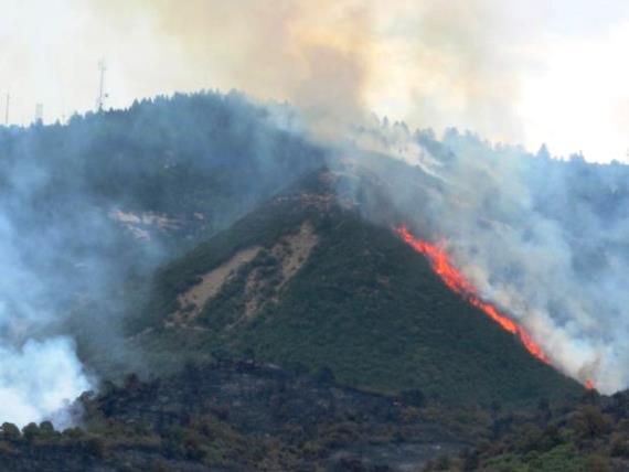 Weber Fire, 2012