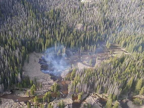 Big Meadow Fire 6-10-2013