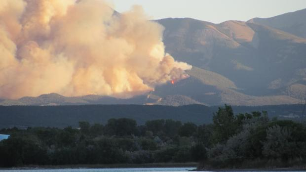East Peak Fire