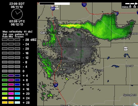 Radar, Black Forest Fire