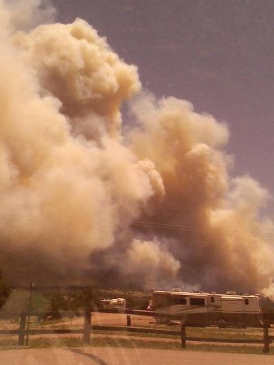 Royal Gorge Fire 6-11-2013