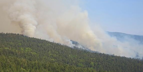 Two fires in northern New Mexico