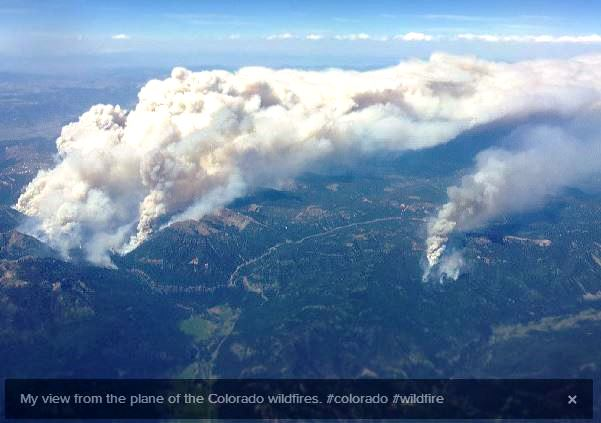 West Fork Complex fires, June 19, 2013