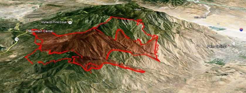 Timeless Environments 2013 Mountain Center Fire Progress Updates