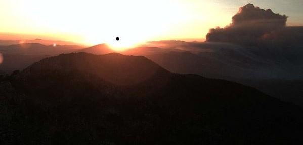 California: Mountain Fire