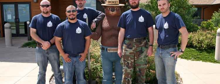 Veterans train to be firefighters in the Black Hills