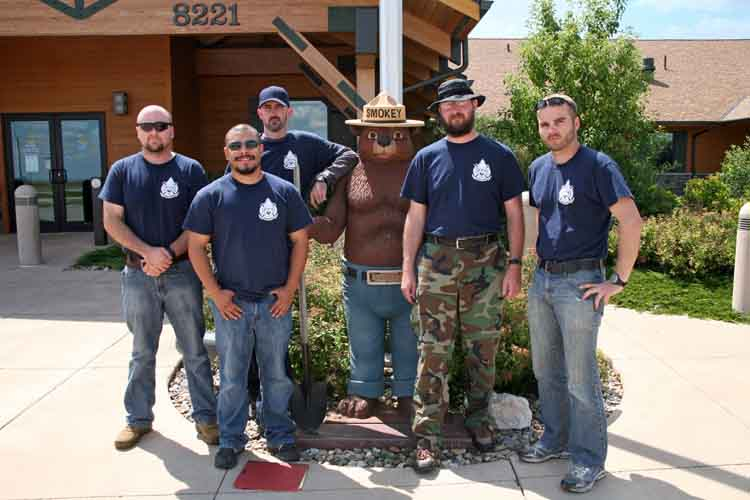 2013 Veteran Fire Corps team, Black Hills