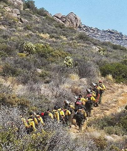 Granite Mountain Hotshots hike