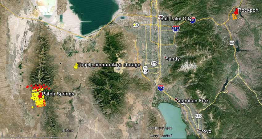 Location Of Fires In Utah Submited Images