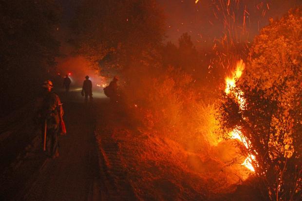 Monterey Hotshots Rim Fire