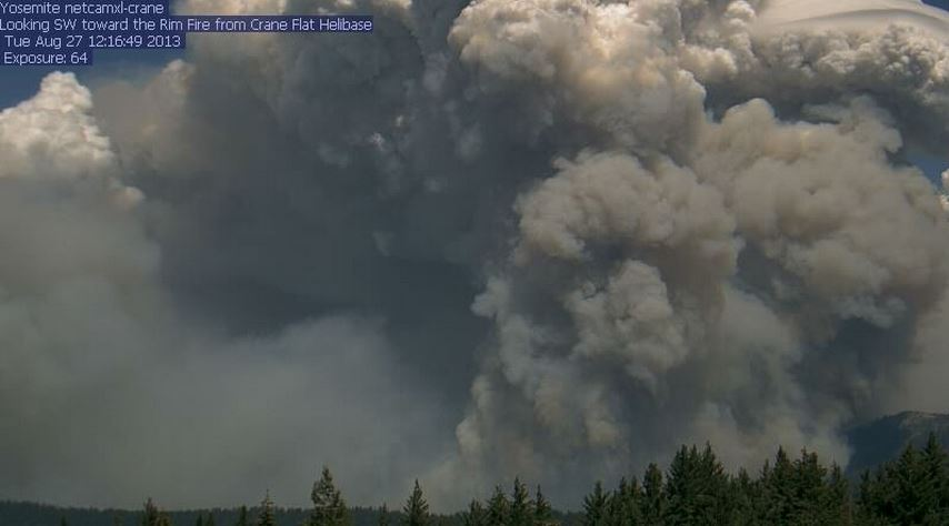 Photo of Rim Fire