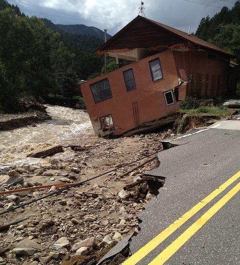 Firefighters Respond To Colorado Floods