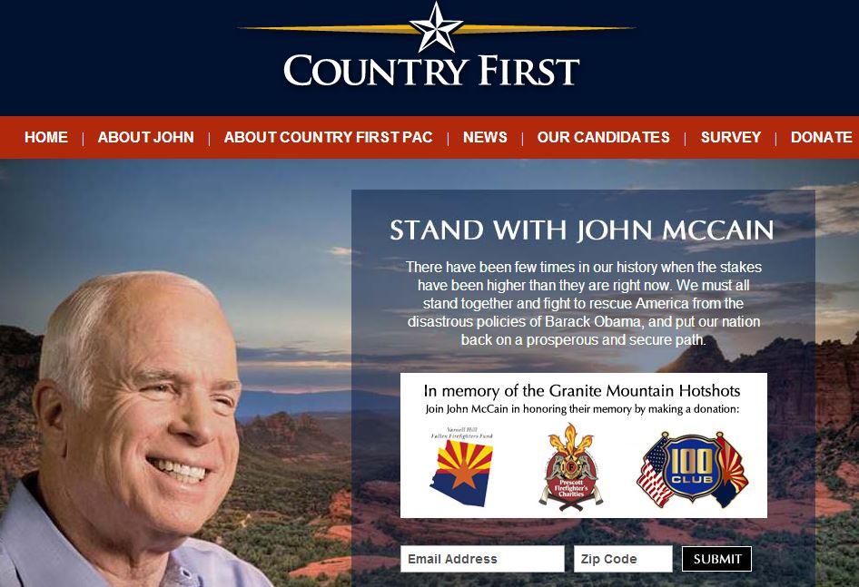 McCain Hotshots donations