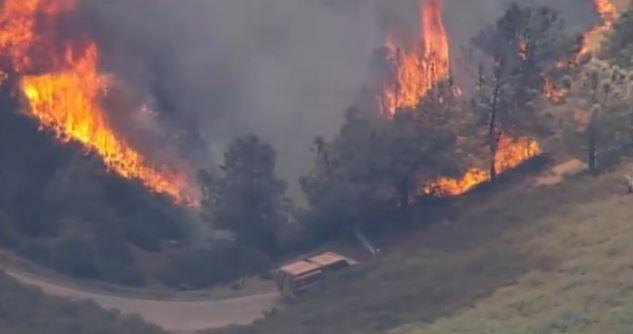 Morgan Fire at 12:25 p.m. PDT, September 9, 2013