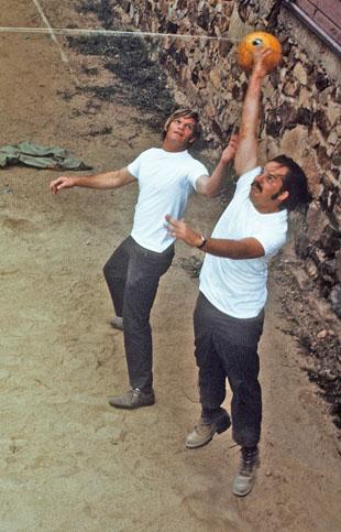 Ron Campbell and Bill Gabbert