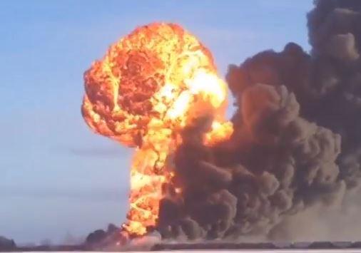 Casselton train derailment