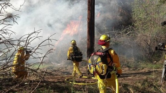 firefighters Colby Fire