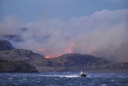 Norway fire