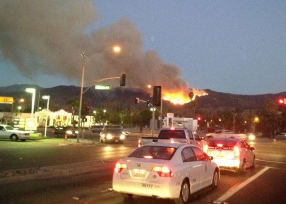 Colby fire