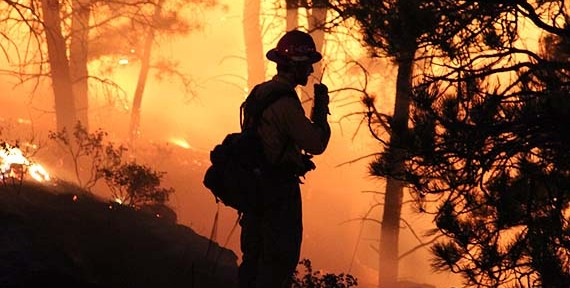 Florida Forest Service tracks the location of firefighters