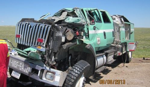 Report released on USFS engine rollover in Wyoming
