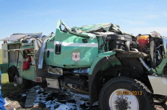 Engine 492 rollover accident