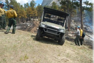 UTV  at Devils Tower