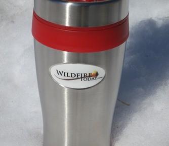Wildfire Today mug