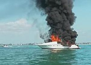 Sanibel boat fire