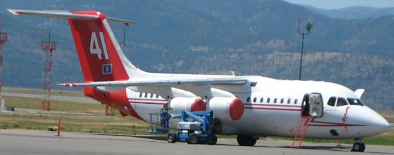Neptune's Tanker 41 at Missoula