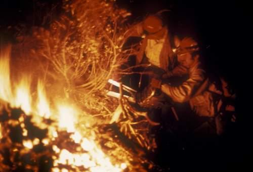 night firefighting