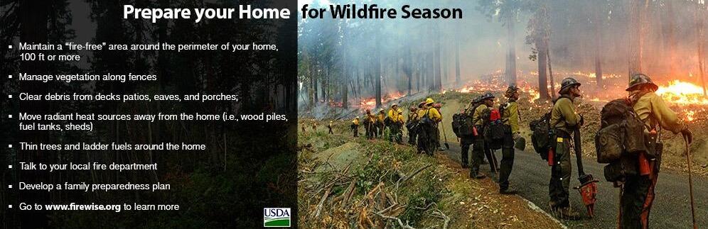 Prepare Your Home for Wildfire Season