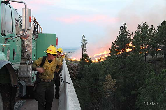 White Draw Fire, June 29, 2012. Photo by Bill Gabbert.