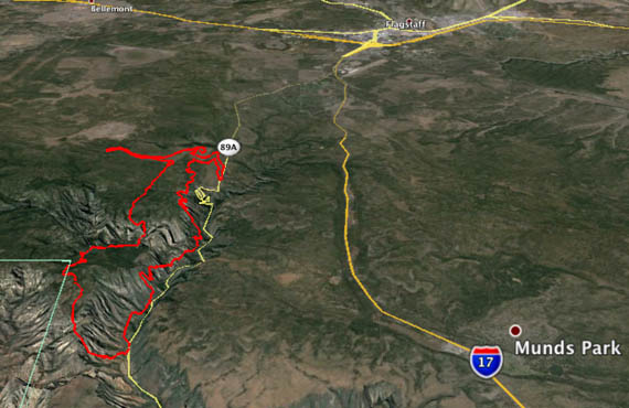 map of Slide Fire