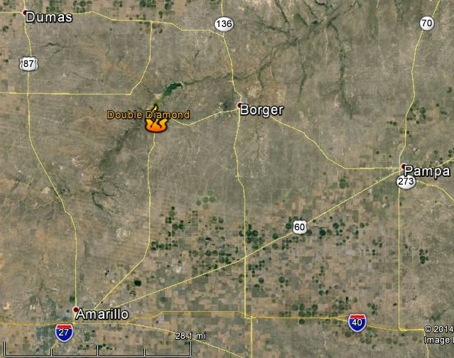 Map Double Diamond Fire Wildfire Today