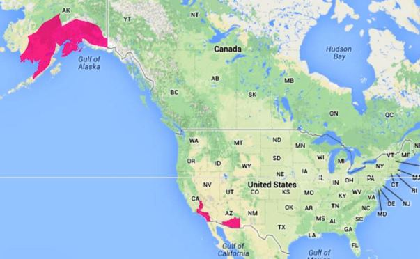 wildfire Red Flag Warnings -- May 14, 2014