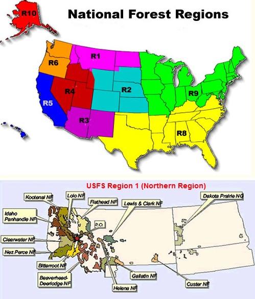 USFS Region 1