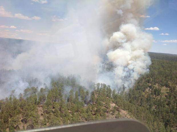 Galahad Fire, May 27