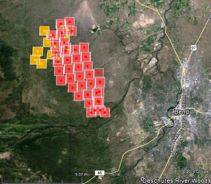 Map Of Two Bulls Fire At 410 Am Pt June 8 2014 Wildfire Today