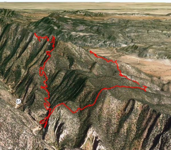 Eight Mile Alabama: 3D Map Of Eightmile Fire, Looking East At 1030 Pm MDT