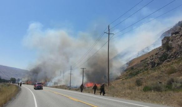 Mills Canyon Fire