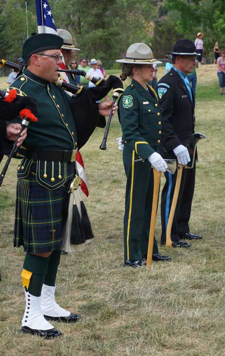 Honor Guard and Color Guard