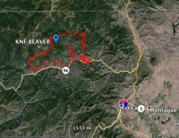 Beaver Fire, 8-11-2014