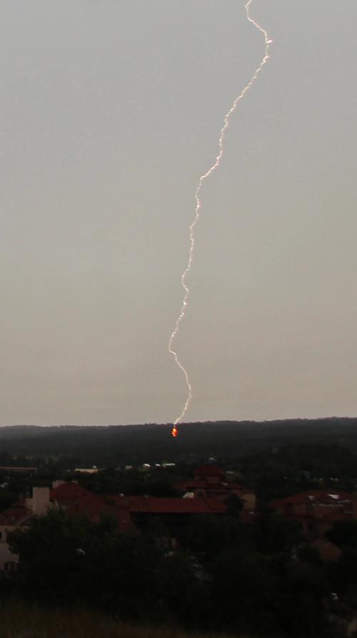 Lightning in the Black Hills, 8-23-2014